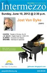 Intermezzo Sunday Concert, with Jost Van Dyke, piano