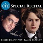 Faculty Recital, Sergei Babayan / Daniil Trifonov / Prokofiev, Rachmaninov