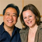 Yo-Yo Ma & Kathryn Stott, cellist and pianist in recital