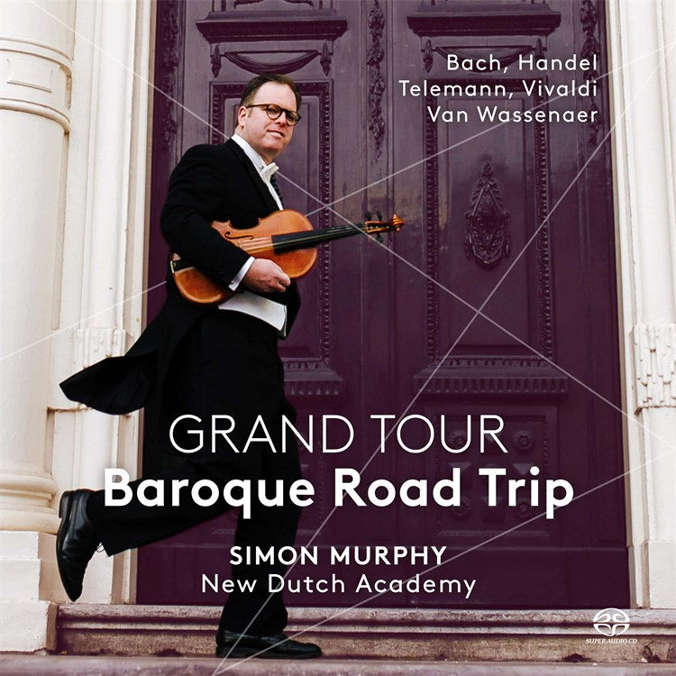GRAND TOUR Baroque Road Trip Album Cover